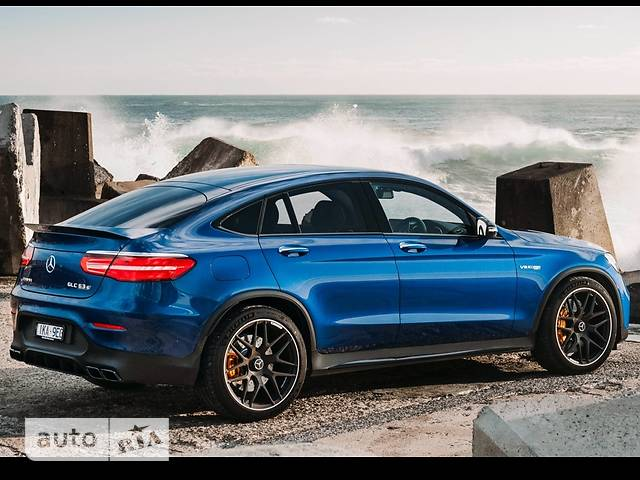 Mercedes-Benz GLC-Class Mercedes-AMG GLC Coupe 63S MCT (510 л.с.) 4Matic+