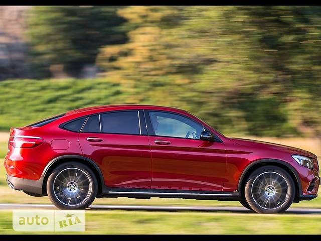 Mercedes-Benz GLC-Class GLC Coupe 350d AT (258 л.с.) 4Matic