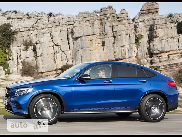 Mercedes-Benz GLC-Class GLC Coupe 220d AT (170 л.с.) 4Matic