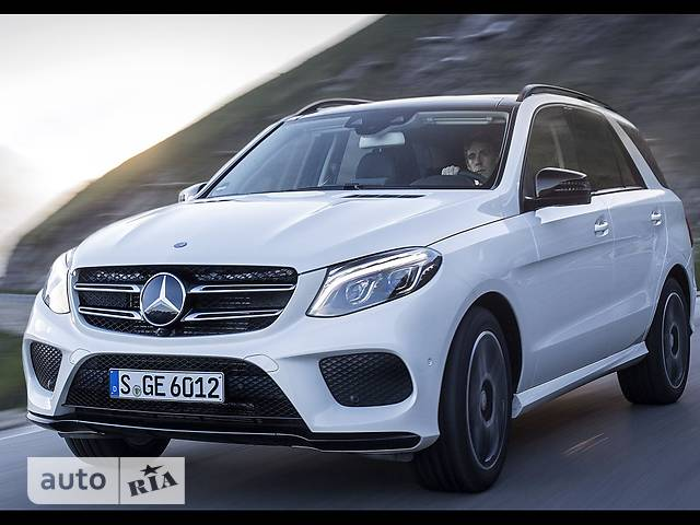 Mercedes-Benz GLE-Class GLE SUV 350d AT (258 л.с.) 4Matic
