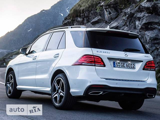 Mercedes-Benz GLE-Class GLE SUV 350d AT (258 л.с.) 4Matic