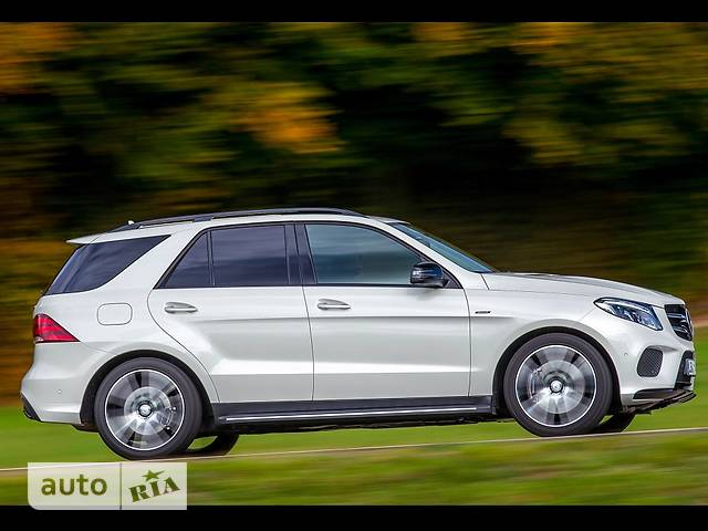 Mercedes-Benz GLE-Class GLE SUV 400 AT (333 л.с.) 4Matic