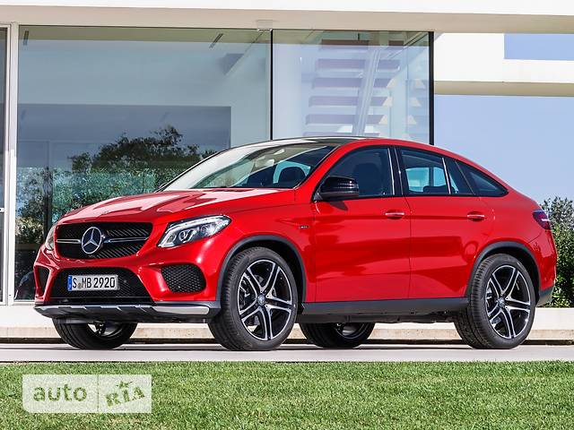 Mercedes-Benz GLE-Class GLE Coupe 500 AT (455 л.с.) 4Matic