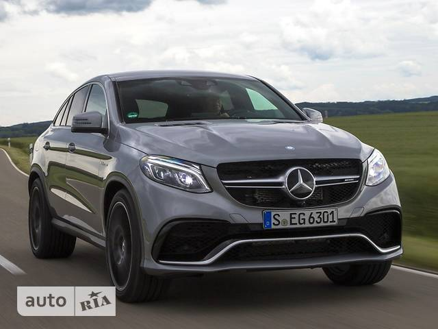 Mercedes-Benz GLE-Class Mercedes-AMG GLE Coupe 63 S AT (585 л.с.) 4Matic