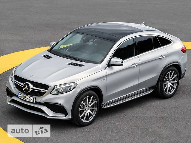 Mercedes-Benz GLE-Class Mercedes-AMG GLE Coupe 63 AT (557 л.с.) 4Matic