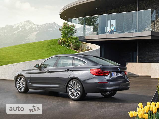 BMW 3 Series GT F34 320d MT (190 л.с.) xDrive base