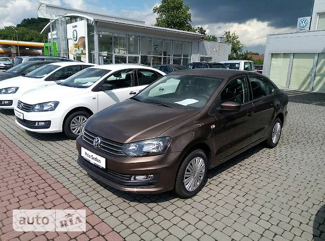 Volkswagen Polo New 1.4 TSI MT (125 л.с.) Comfortline