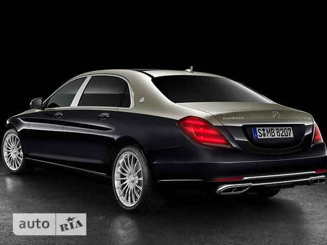 Mercedes-Benz Maybach S 560 AT (469 л.с.)