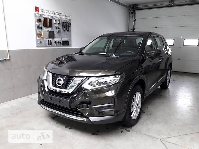 Nissan X-Trail New FL 2.0 MT (144 л.с.) Visia