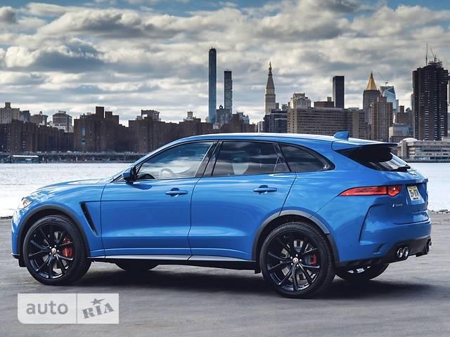 Jaguar F-Pace SVR 5.0 AT (550 л.с.) AWD