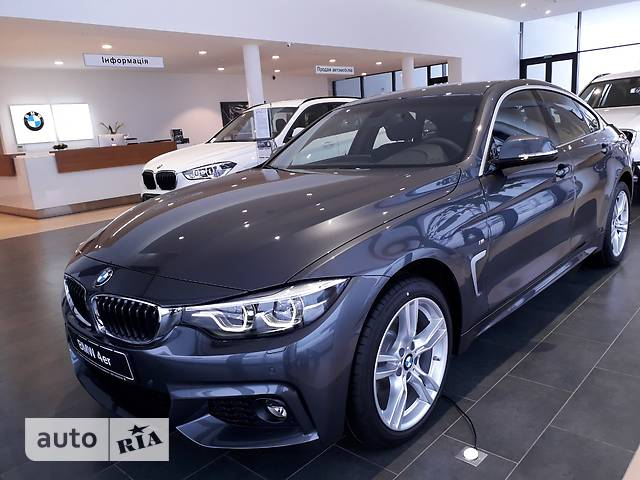 BMW 4 Series Gran Coupe F36 420i MT (184 л.с.) xDrive