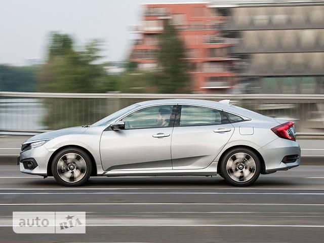 Honda Civic 1.6 CVT (125 л.с.) Elegance
