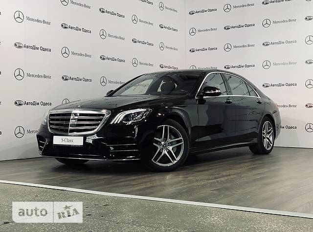 Mercedes-Benz S-Class S 400d AT (340 л.с.) 4Matic Long