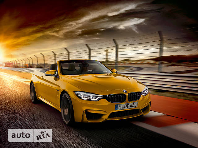 BMW M4 F83 3.0 МТ (431 л.с.) base