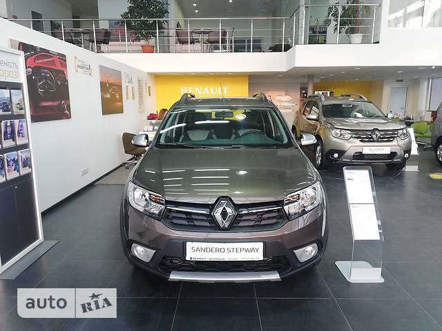 Renault Sandero 1.5DСi 5МТ (90 л.с.) Stepway Life+