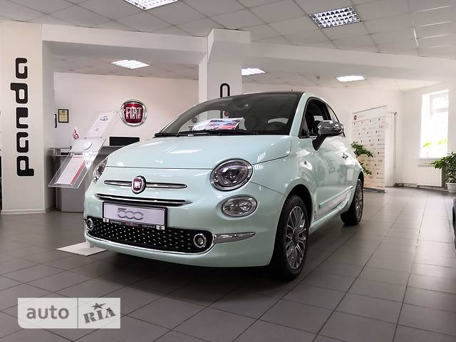 Fiat 500 New 1.2 AT (69 л.с.) Cinquecento