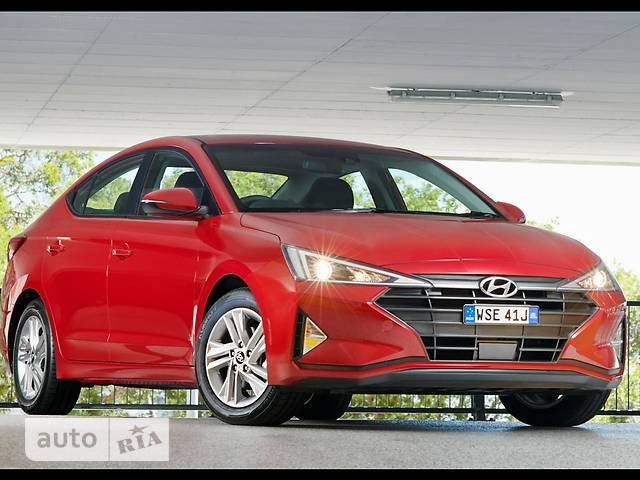 Hyundai Elantra 2.0 MPi AT (152 л.с.) Style
