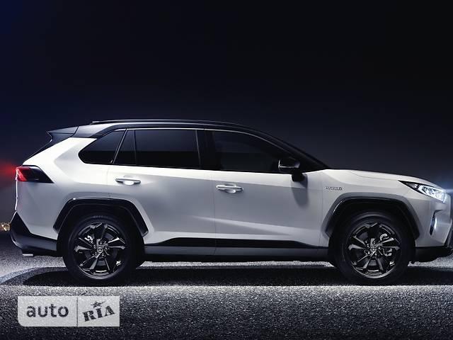 Toyota Rav 4 2.5 Hybrid e-CVT (218 л.с.) Style