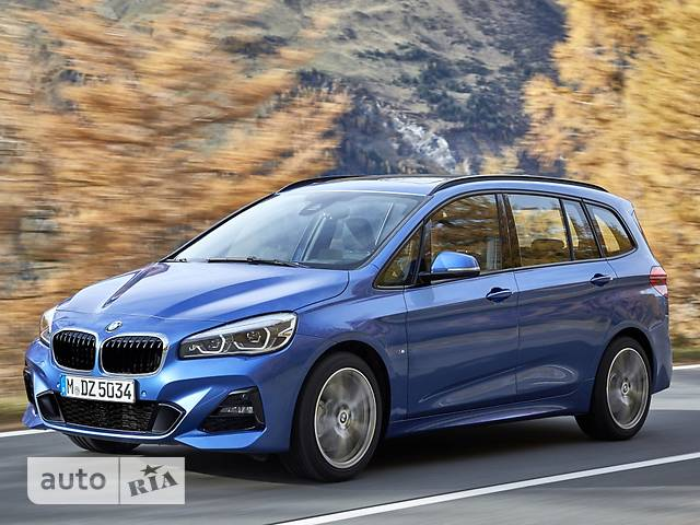 BMW 2 Series Gran Tourer 218i MT (140 л.с.) base
