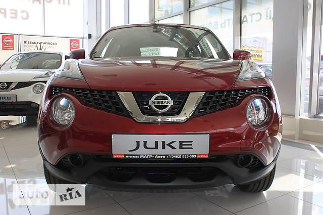 Nissan Juke FL 1.6 МТ (94 л.с.) Visia