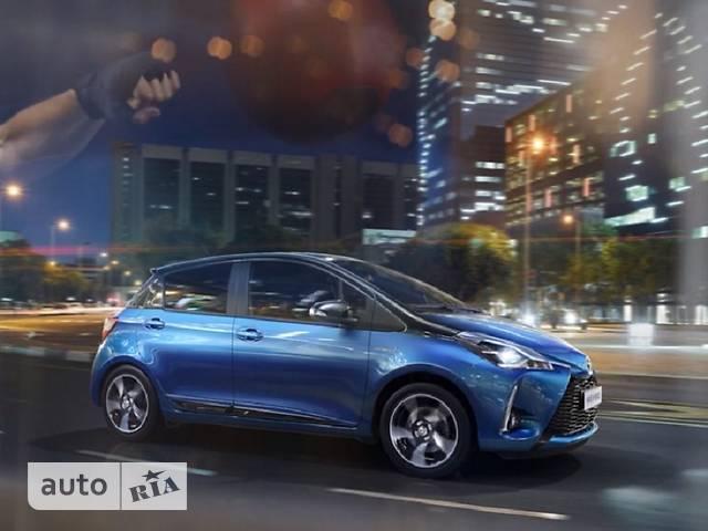 Toyota Yaris 1.5 Dual VVT-iE  CVT (111 л.с.) Style