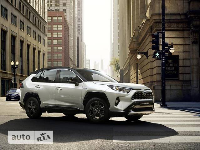 Toyota RAV4 2.5 Hybrid e-CVT (222 л.с.) AWD-i Style