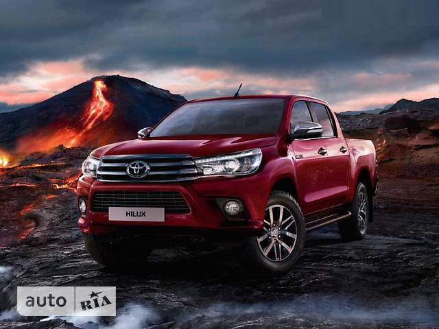 Toyota Hilux New 2.4 D-4D AT (150 л.с.) Active