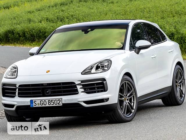 Porsche Cayenne Coupe 3.0 Tip-tronic S (340 л.с.) AWD base
