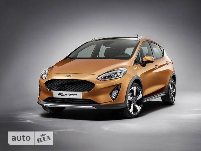 Ford Fiesta 1.0 Ecoboost AT (100 л.с.) Active+