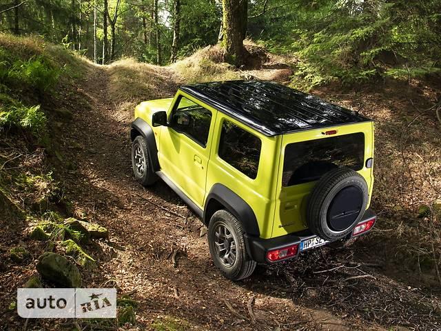 Suzuki Jimny 1.5 AT (102 л.с.) GLX