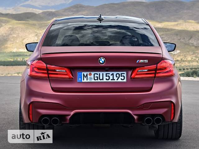 BMW M5 F90 4.4 АТ (600 л.с.) xDrive First Edition