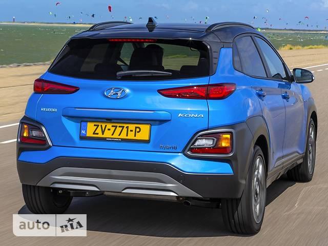 Hyundai Kona 1.6 Turbo-GDi DCT (177 л.с.) Elegance