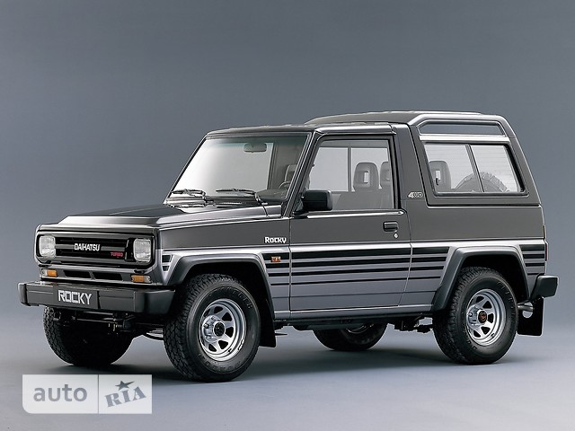 Daihatsu Rocky фото 1