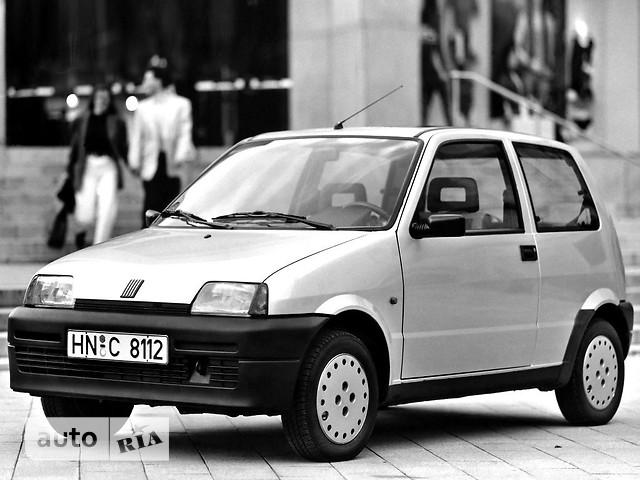 Fiat Cinquecento фото 1