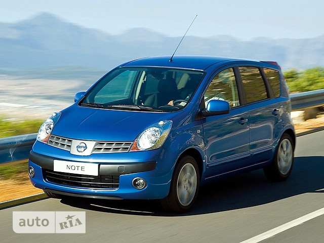 Nissan Note фото 1