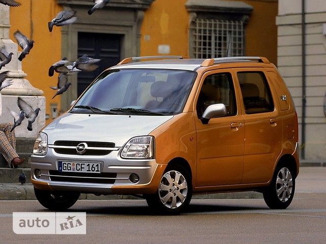 Opel Agila фото 1