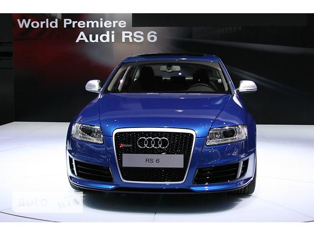 Audi RS6 фото 1