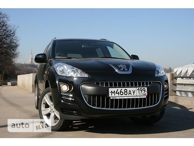 Peugeot 4007 фото 1