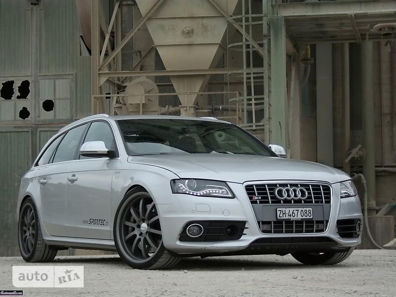 Audi S4 Avant фото 1
