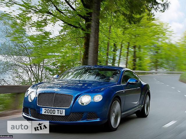Bentley Continental фото 1
