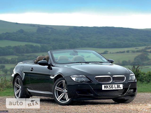 BMW M6 Cabrio фото 1
