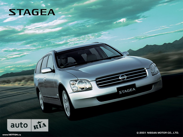 Nissan Stagea фото 1