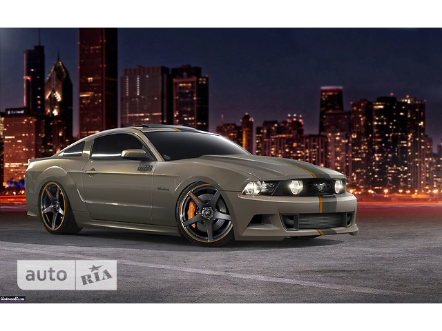 Ford Mustang GT фото 1
