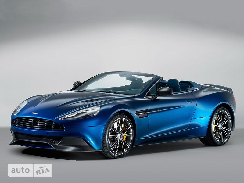 Aston Martin Vanquish фото 1