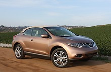 Новые Nissan Murano CrossCabrio