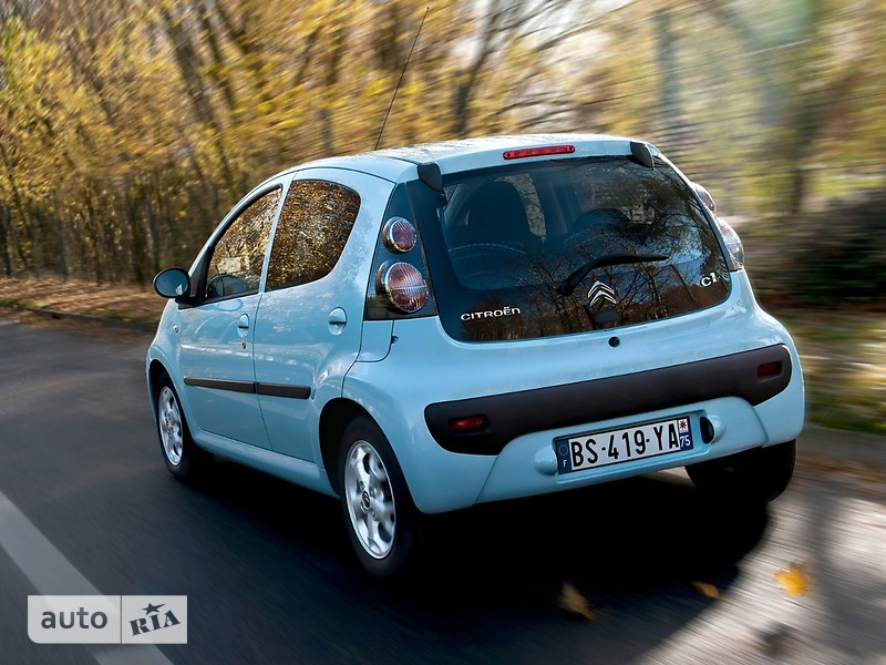 Citroen C1 Hatchback (5d) фото 1