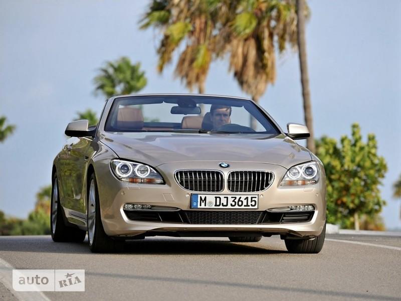 BMW 6 Series Cabrio фото 1