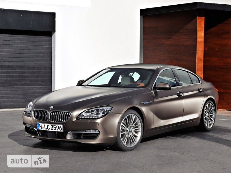 BMW 6 Series Gran Coupe фото 1