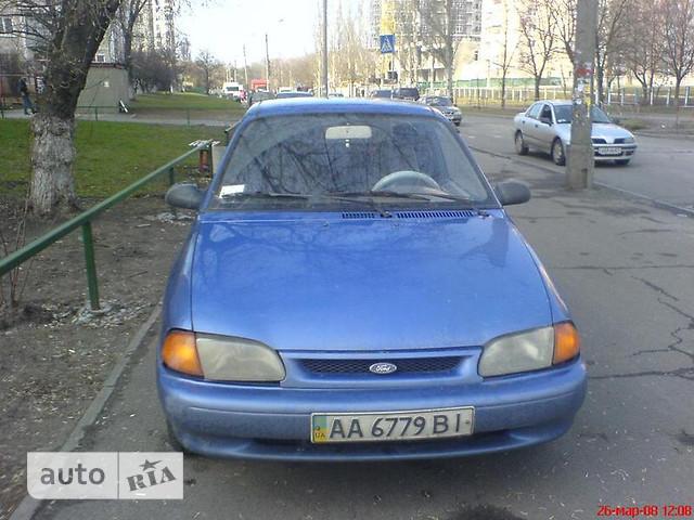 Ford Aspire фото 1