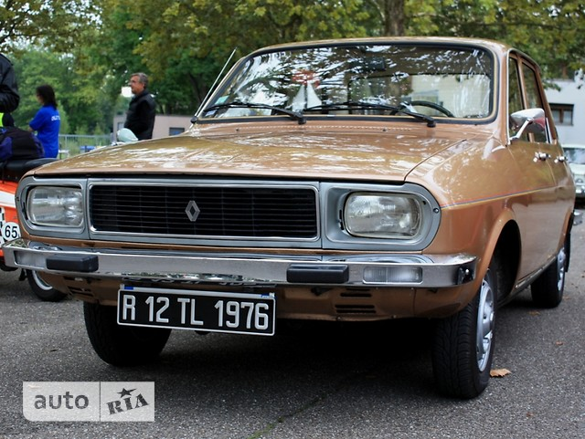 Renault 12 фото 1